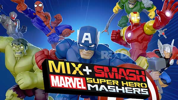 Mix+Smash Marvel Mashers