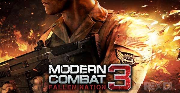 Modern Combat 3 Fallen Nation Mod