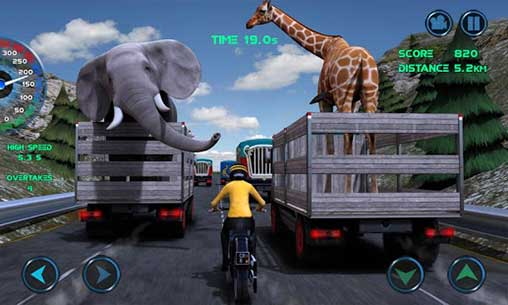 Moto Traffic Race for Android Apk Mod Revdl