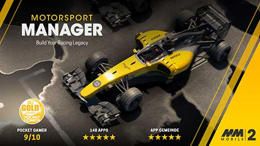 Motorsport Manager Mobile 2 1 1 3 Apk + Mod + Data for Android