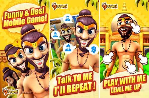 My Talking Babaji-Talking Game Apk