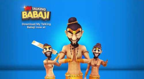 My Talking Babaji-Talking Game