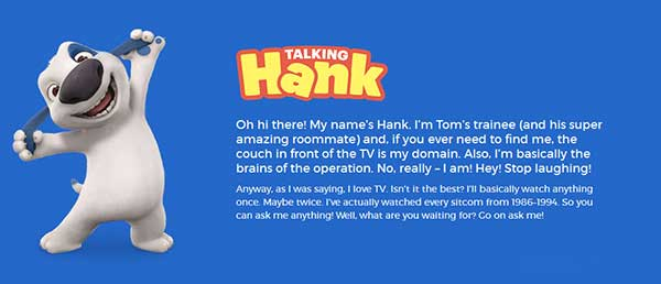 My Talking Hank