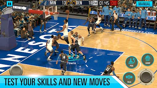 NBA 2K Mobile Basketball Apk
