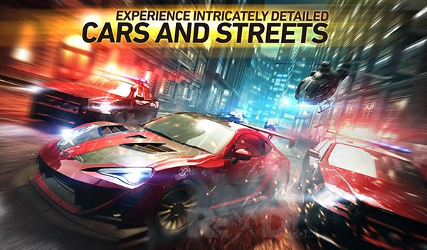 Need for Speed No Limits Cars And Streets