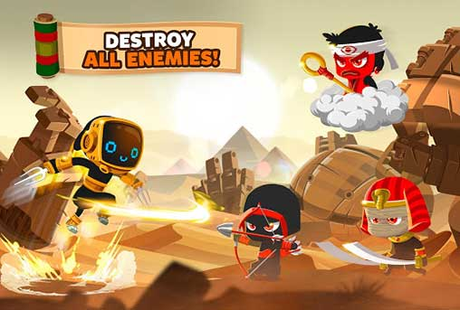 Ninja Dash Run Apk