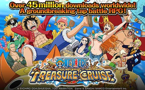 ONE PIECE TREASURE CRUISE 9.1.1 Apk + Mod for Android-upupfree