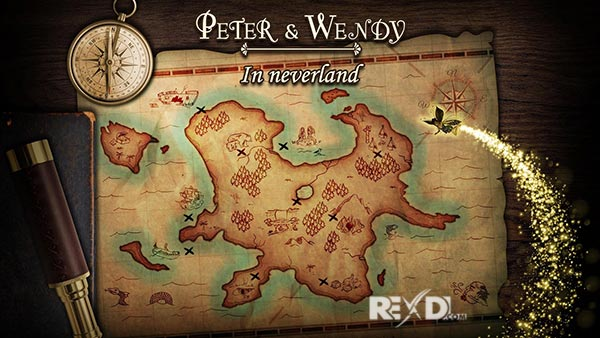Peter & Wendy in Neverland android