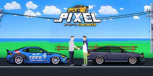 Pixel Car Racer 1 1 80 Apk Mod Unlocked For Android