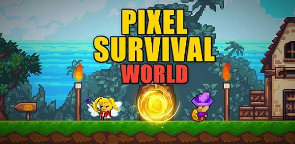 Pixel Survival World