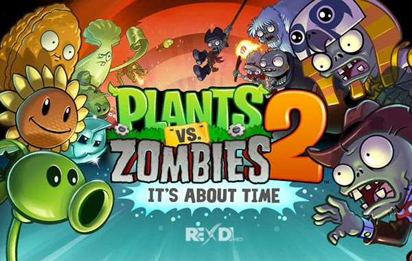 Plants vs Zombies 2 7 5 1 Apk + MOD (Coins/Gems) + Data Android