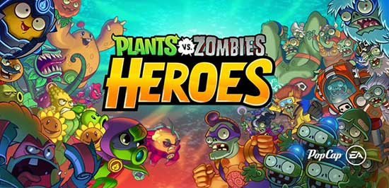 Plants vs  Zombies Heroes 1 34 5 Apk Mod (Sun/HP) + Data Android
