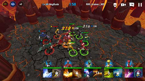 Power Rangers All Stars Apk Mod Revdl