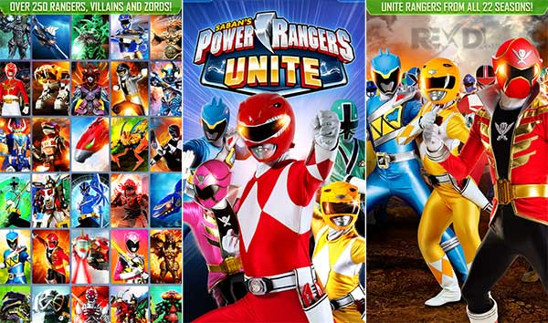 Power Rangers UNITE Apk