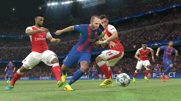PES 2018 PRO EVOLUTION SOCCER 2 3 3 Apk + Data for Android