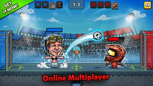 Puppet Football Fighters - Steampunk Soccer Apk