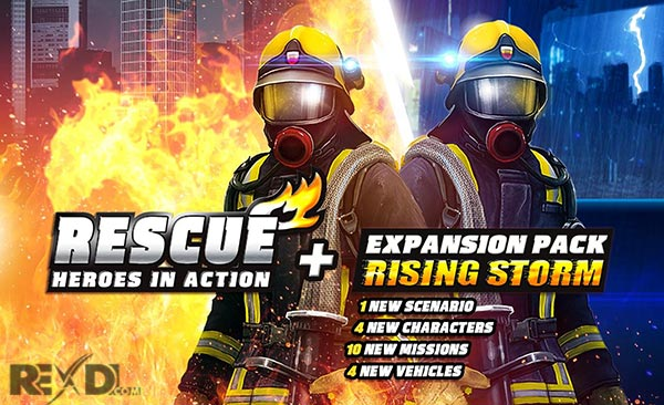 RESCUE Heroes in Action 1 1 7 Apk + Mod + Data Android
