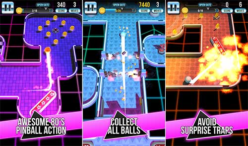 Retro Shot Pinball Puzzle Game Apk