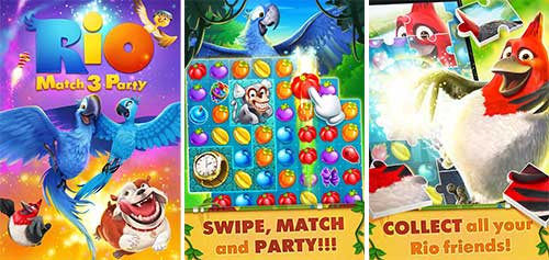 Rio Match 3 Party Apk