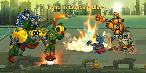 Robot Evolved : Clash Mobile Apk