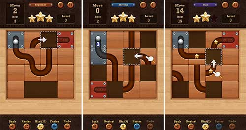 Roll the Ball – slide puzzle Apk