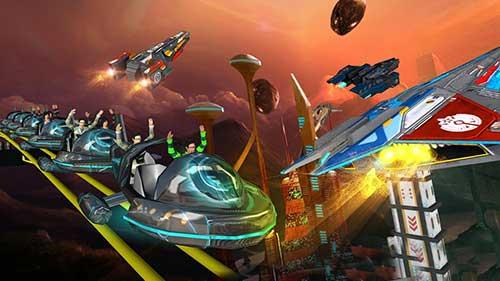 Roller Coaster Simulator Space Apk