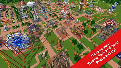 RollerCoaster Tycoon Touch Apk Mod Revdl Money Data for Androids