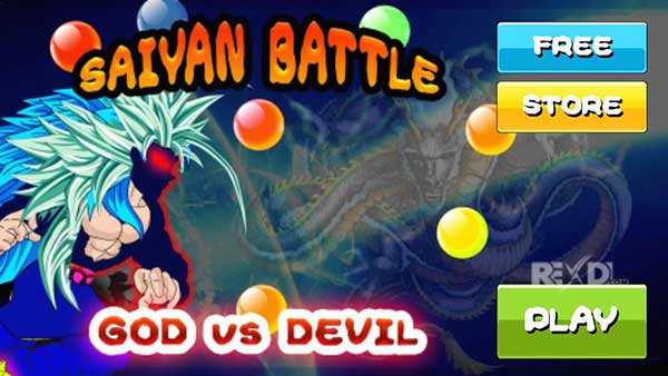 Saiyan Battle of Goku Devil