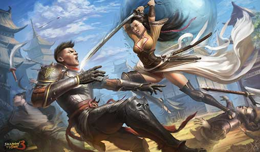 Shadow Fight 3 1 19 0 Full Apk + Mod (Frozen Enemy) Android