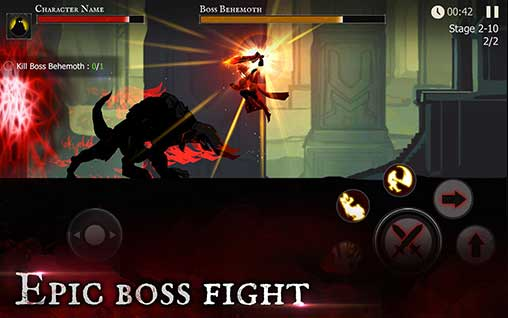 Shadow of Death: Dark Knight 1 60 0 0 Apk + MOD (Crystals