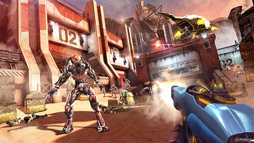 Shadowgun Legends 0 9 3 Full Apk + Mod (Ammo) + Data Android