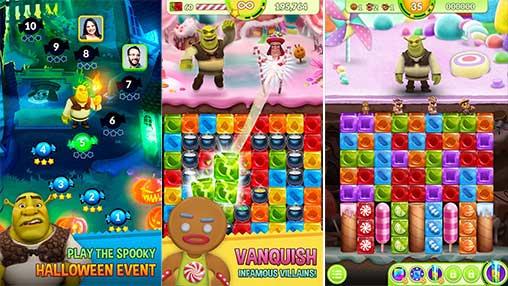 Shrek Sugar Fever Apk Mod Revdl for Android