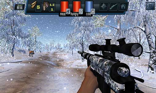 Siberian survival. Hunting. Apk