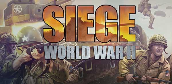 SIEGE: World War II Cover