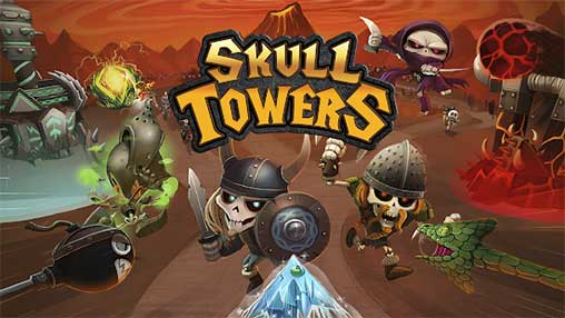 Skull Towers: Castle Defense Apk + Mod Coin for Android