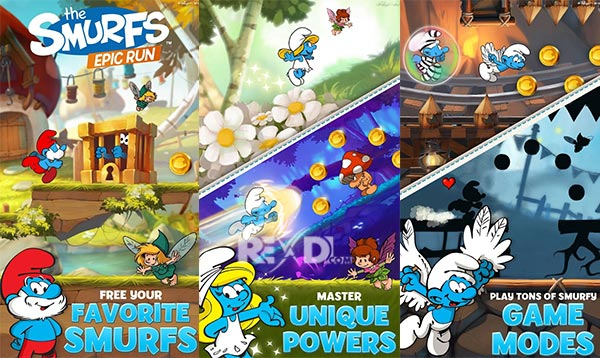 Smurfs Epic Run Apk