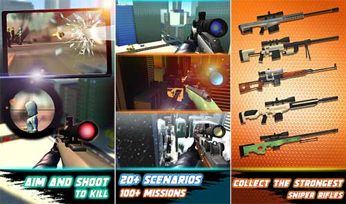 Sniper 3D Silent Assassin Fury Apk