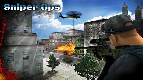 Sniper Ops Kill Terror Shooter Mod