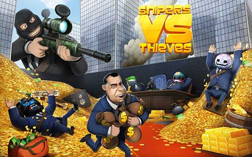 Snipers vs Thieves 2.1.26173 Apk + Mod + Data Android 2019 !