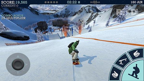 xtreme snowboarding game