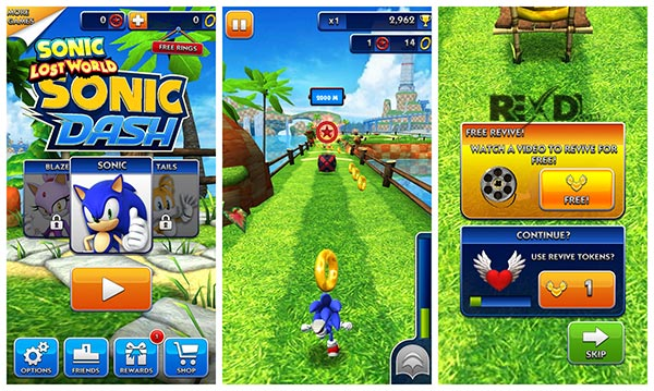 Sonic dash android apk hack mod 2017 youtube.