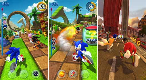 Sonic Forces Speed Battle Apk