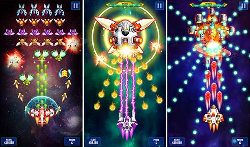 Space Shooter : Galaxy Shooting Apk