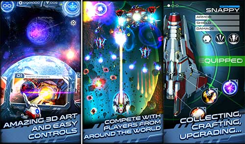 Space Warrior The Origin Apk