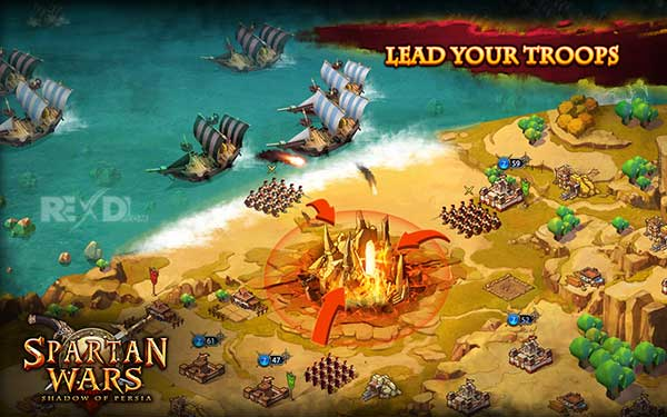 Spartan Wars Blood and Fire Apk
