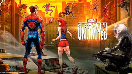 Rexdl.com MARVEL Spider-Man Unlimited 4.2.0e Apk + Data Android Revdl.com
