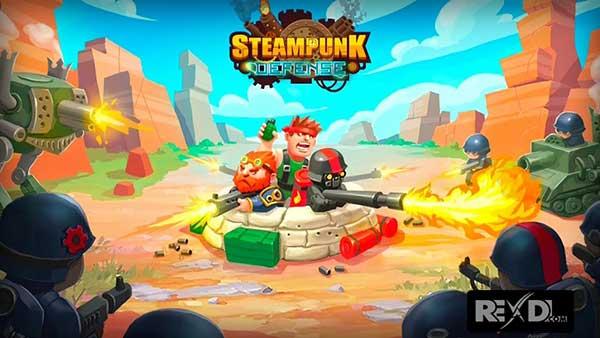 Steampunk Defense: Tower Defense Cover