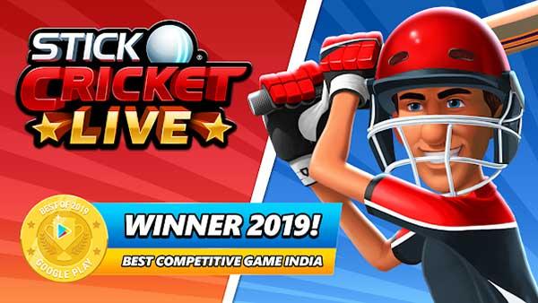 Stick Cricket Live Cover
