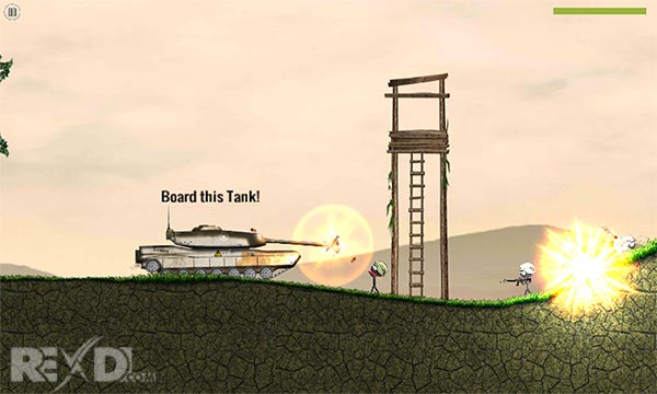 Stickman Battlefields Android