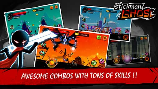 Stickman Ghost: Ninja Warrior Apk